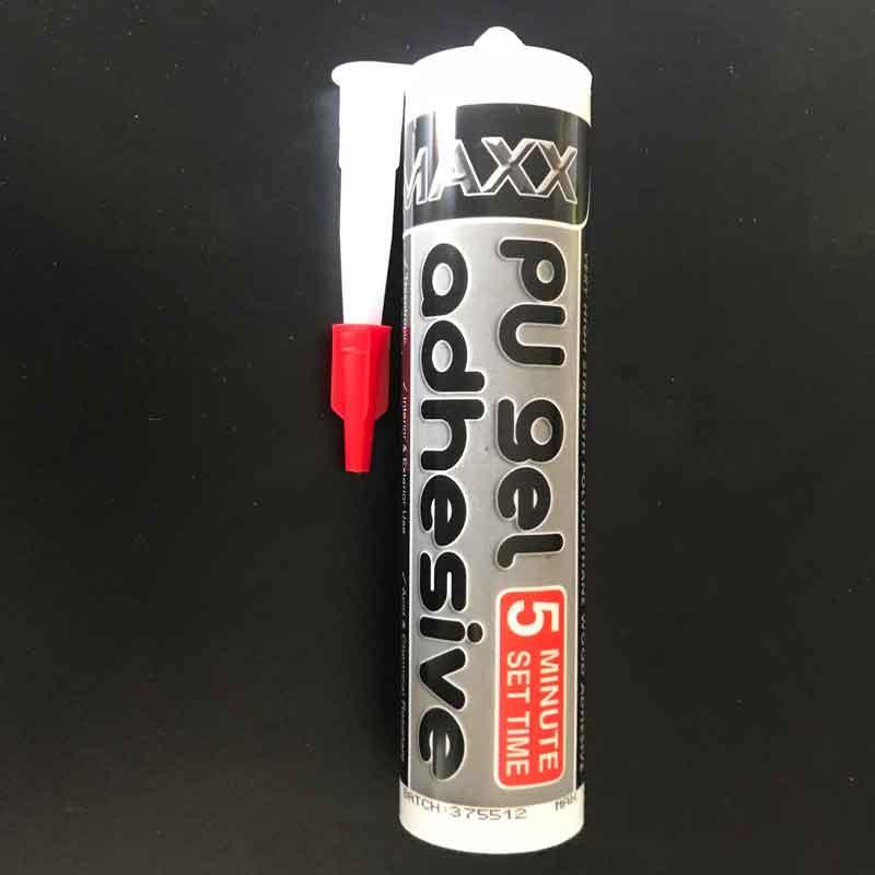 Maxx 5 minute PU Gel Adhesive