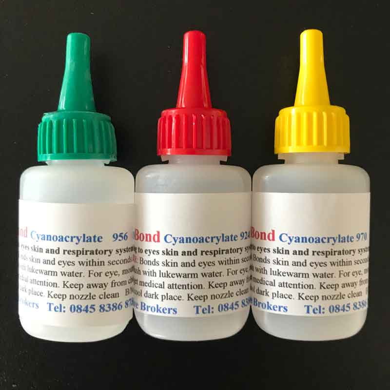 Cyanoacrylates / Super glues